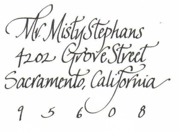 Calligraphy Writing Samples The Image